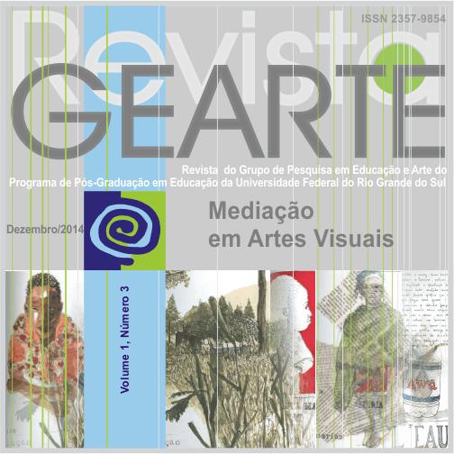 Capa, volume 1, número 3, dezembro de 2014