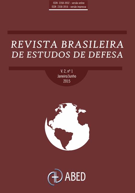 LEITURA RECOMENDADA: Revista Brasileira de Estudos de Defesa