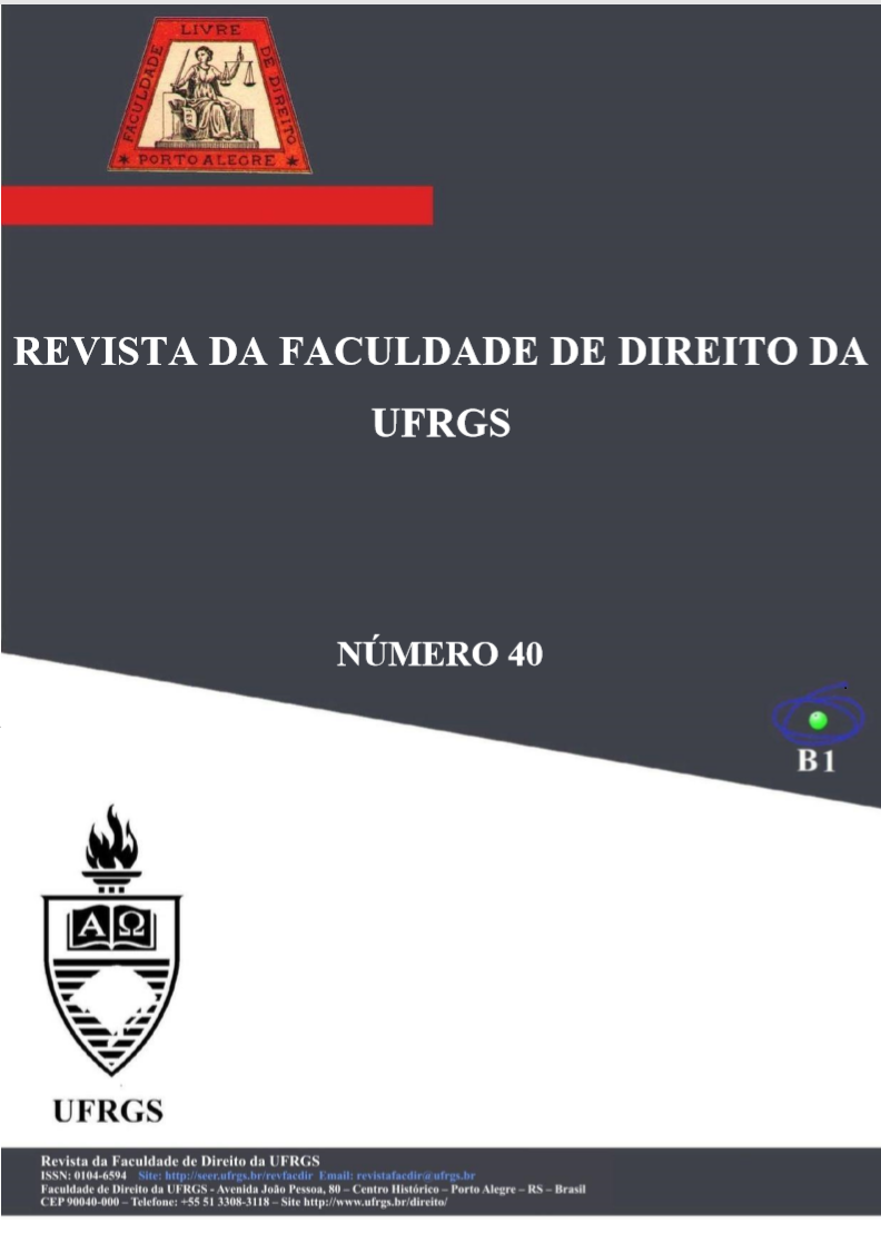 Revista da Faculdade de Direito - número 40