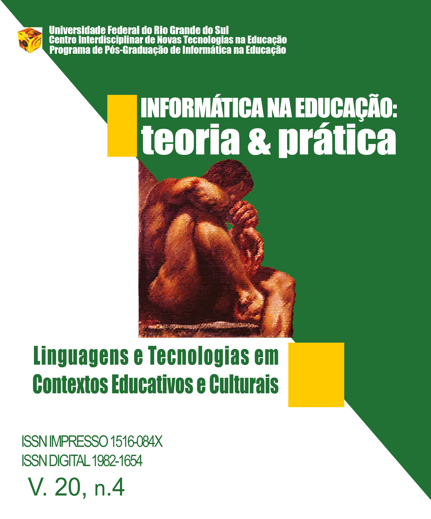 LINGUAGENS E TECNOLOGIAS EM CONTEXTOS EDUCATIVOS E CULTURAIS