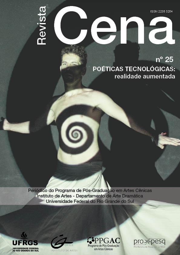 Cena 25 Poéticas Tecnológicas: realidade aumentada