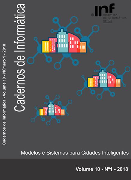 Capa Cadernos de Informática v10 n1 2018