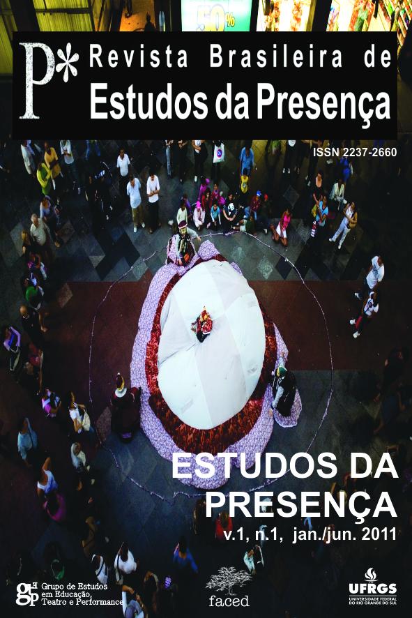 Revista Brasileira de Estudos da Presença volume 1 numero 1 janeiro a junho de 2011
