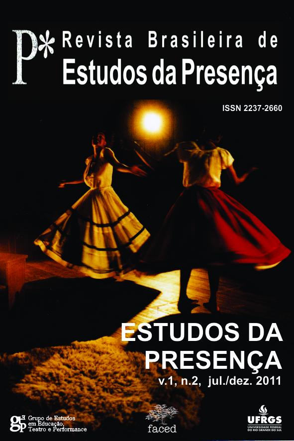 Revista Brasileira de Estudos da Presença v.1 n.2